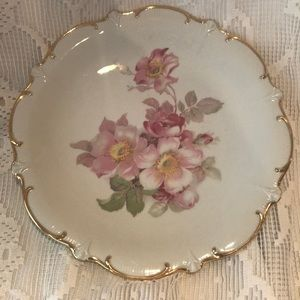 golden crown Germany serving plate